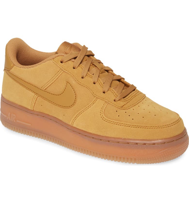 NIKE AIR FORCE 1 High 07 LV8 FlaxWheatGum Light Brown
