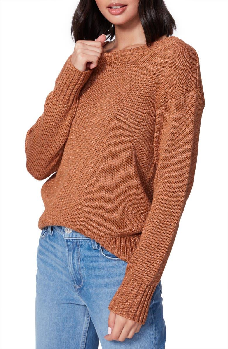 PAIGE Bea Sweater, Main, color, CAMEL/ GOLD
