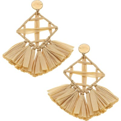 Canvas Jewelry Calista Statement Earrings