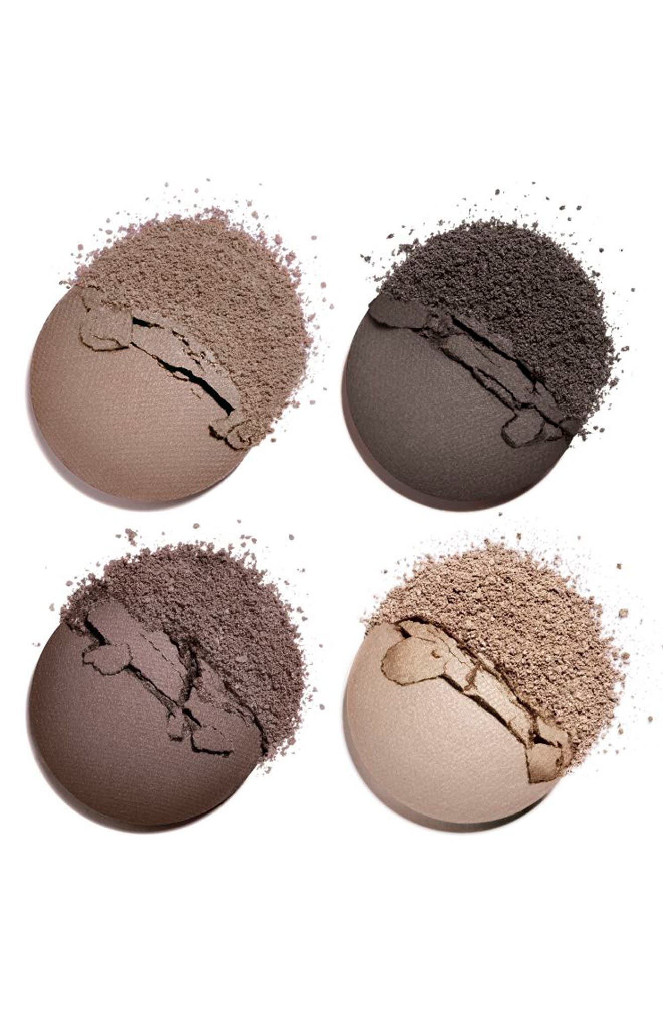 ,                             LES 4 OMBRES<br />Multi-Effect Quadra Eyeshadow,                             Alternate thumbnail 2, color,                             322 BLURRY GREY