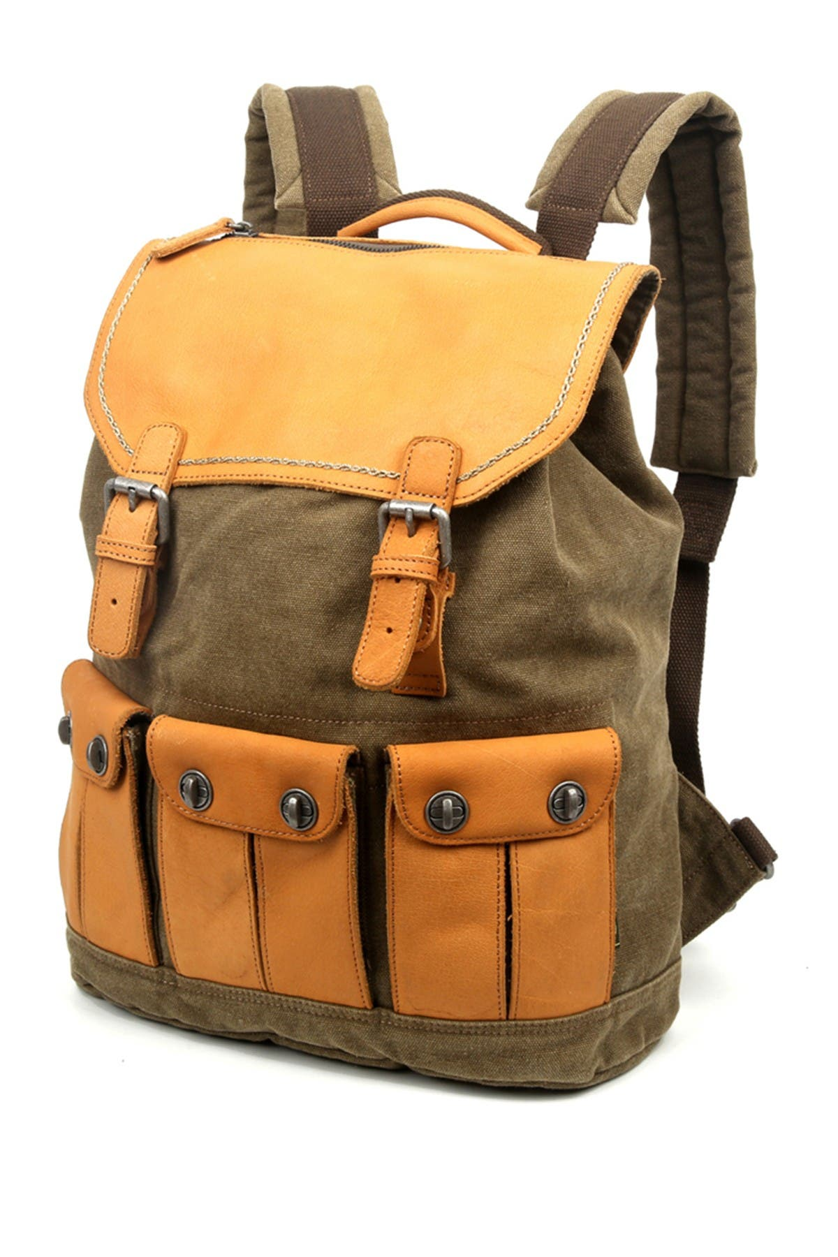 Image of TSD Valley River Canvas Backpack