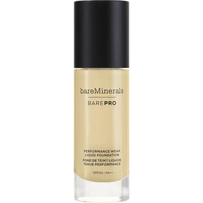 Bareminerals Barepro Performance Wear Liquid Foundation - 08 Golden Ivory