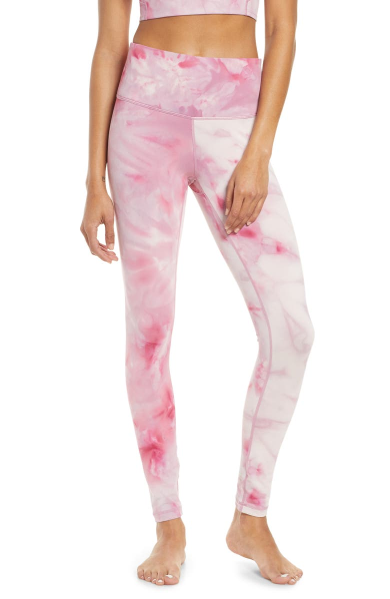 ZELLA Spray Dye High Waist Leggings, Main, color, 531