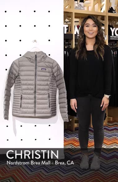 Quilted Water Resistant Down Coat, sales video thumbnail