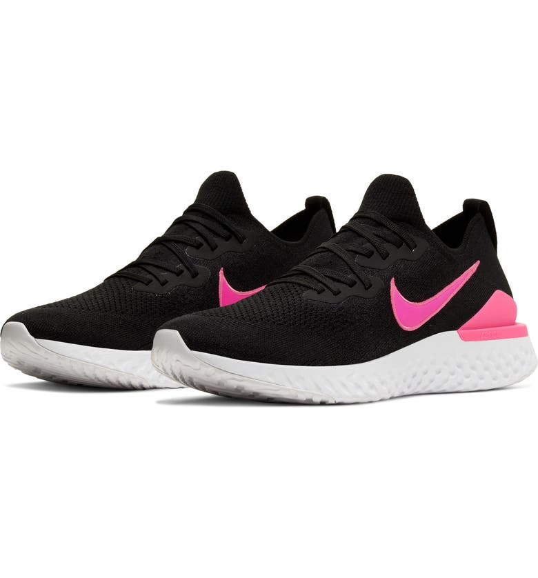 NIKE Epic React Flyknit 2 Running Shoe, Main, color, 013
