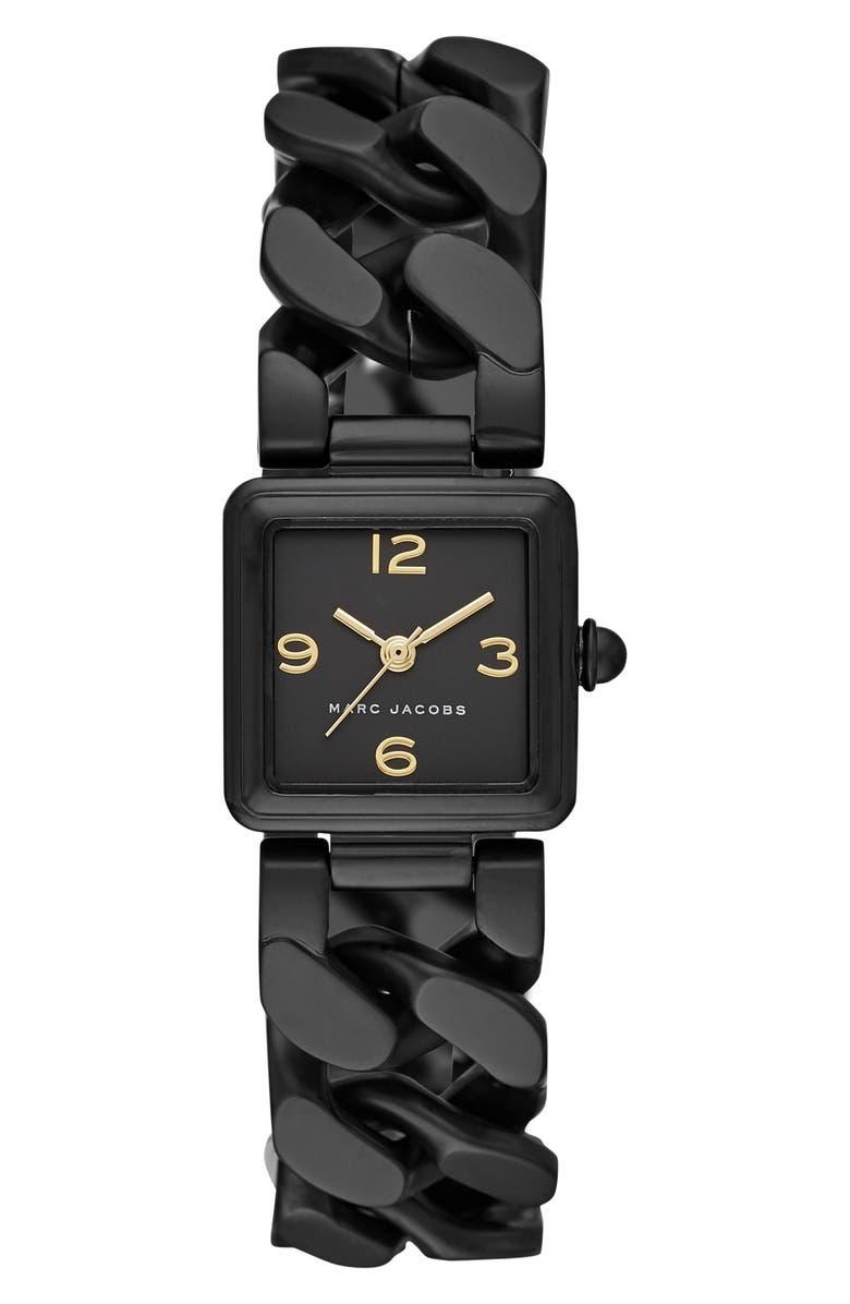 MARC JACOBS Vic Bracelet Watch, 20mm x 20mm, Main, color, 001
