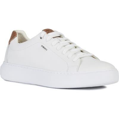 Geox Deiven 17 Sneaker, White