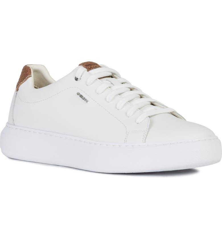 GEOX Deiven 17 Sneaker, Main, color, WHITE