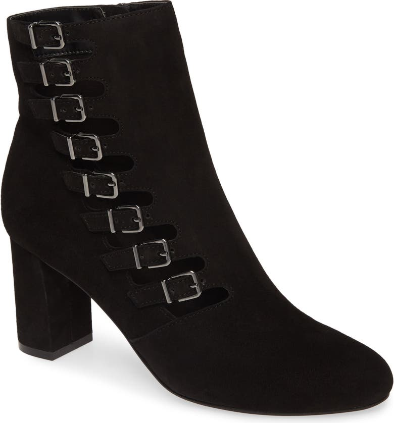 DAVID TATE Mood Bootie, Main, color, BLACK SUEDE