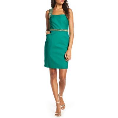 Lilly Pulitzer Dana Stretch Sheath Dress, Green