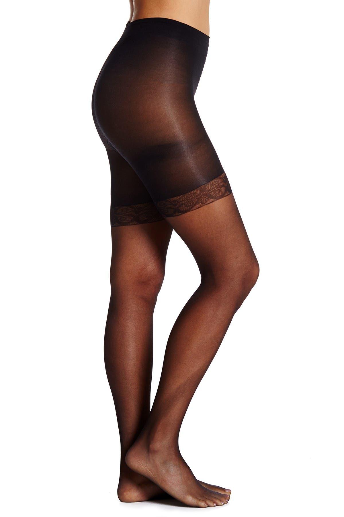 Image of shimera Everyday Sheer Mid-Thigh Shaper Pantyhose