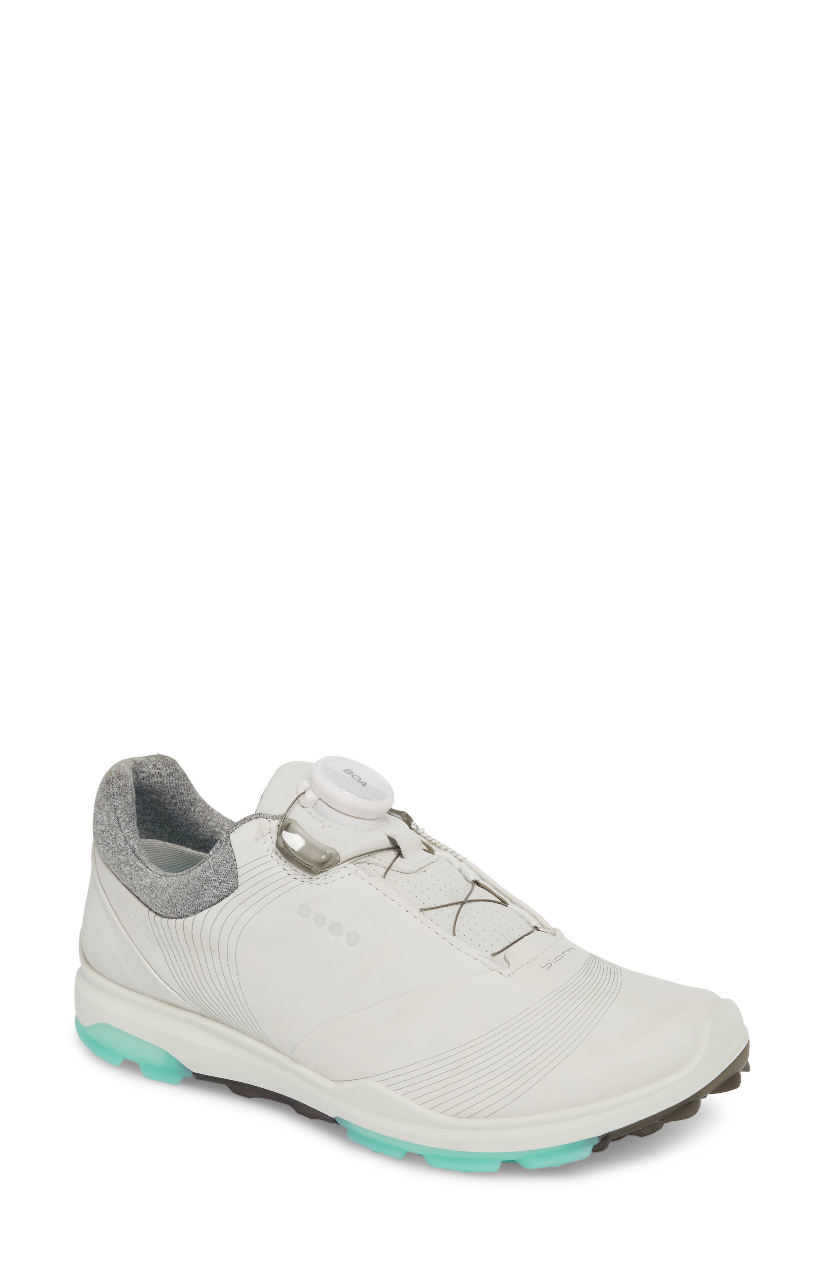 Ecco Golf Biom Hybrid 3 Sneaker, White