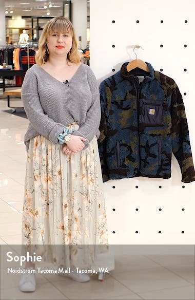 Prentis Camo Fleece Jacket, sales video thumbnail