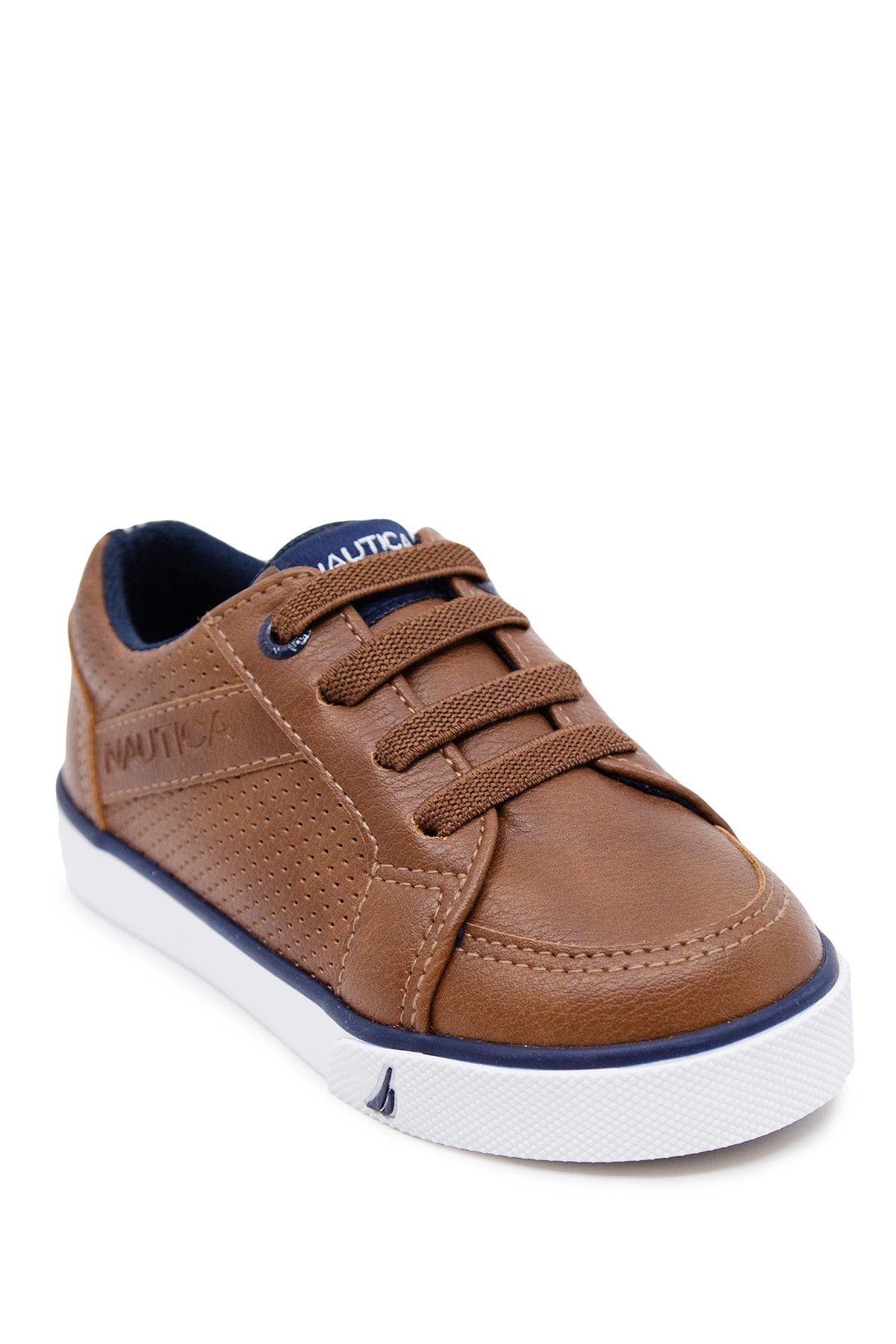 Image of Nautica Perforated Low Top Sneaker