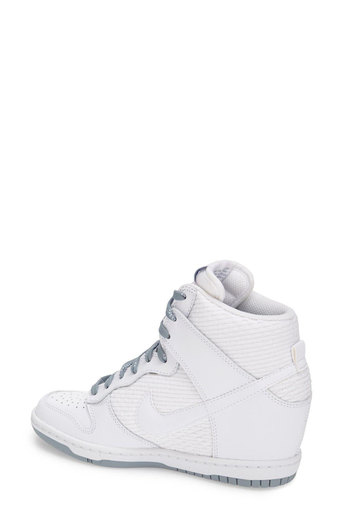,                             'Dunk Sky Hi - Essential' Wedge Sneaker,                             Alternate thumbnail 44, color,                             102