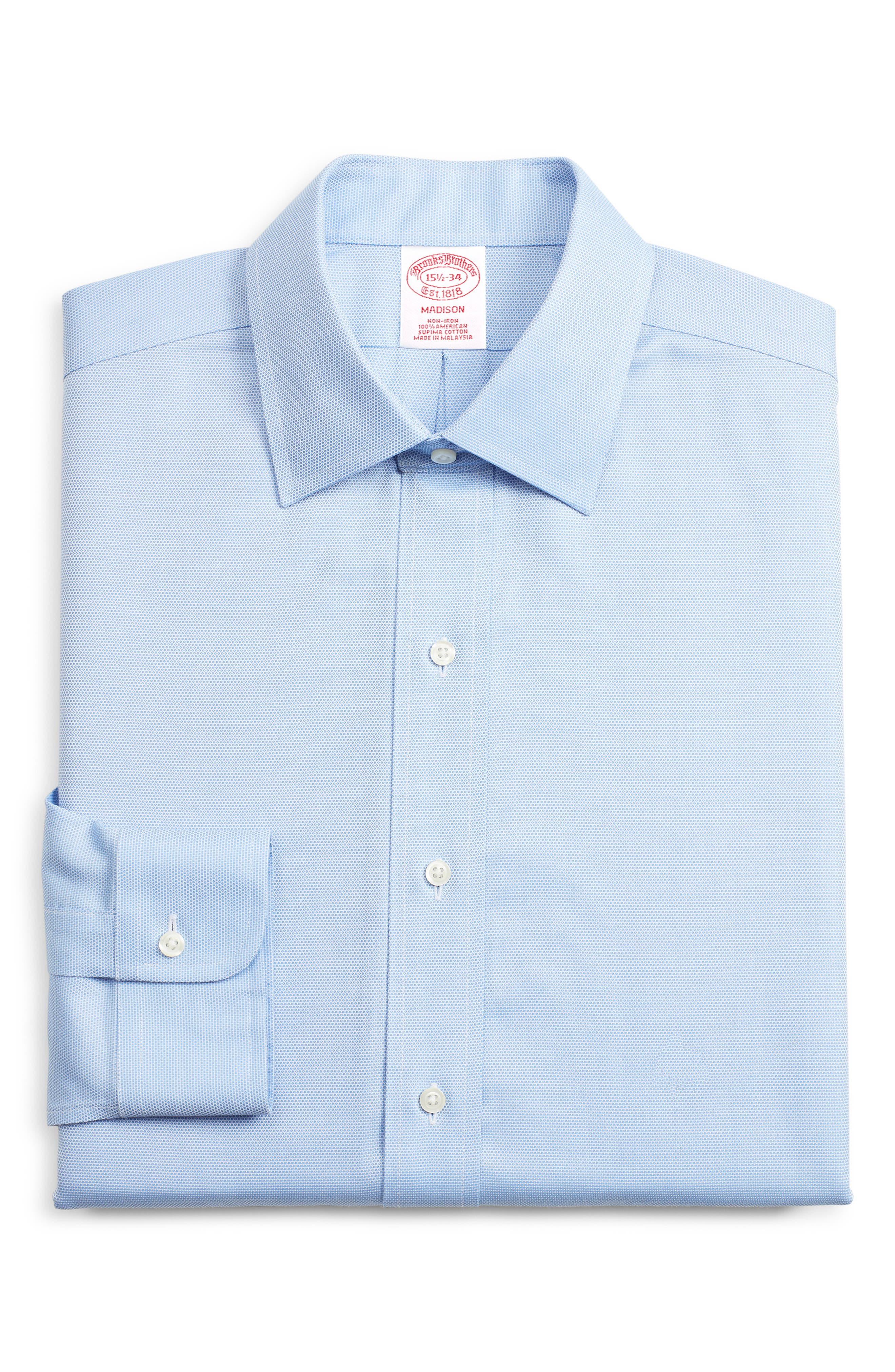 Brooks Brothers Madison Classic Fit Print Dress Shirt (3 For $207)