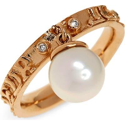Marlo Laz Dancing Pearl Ring