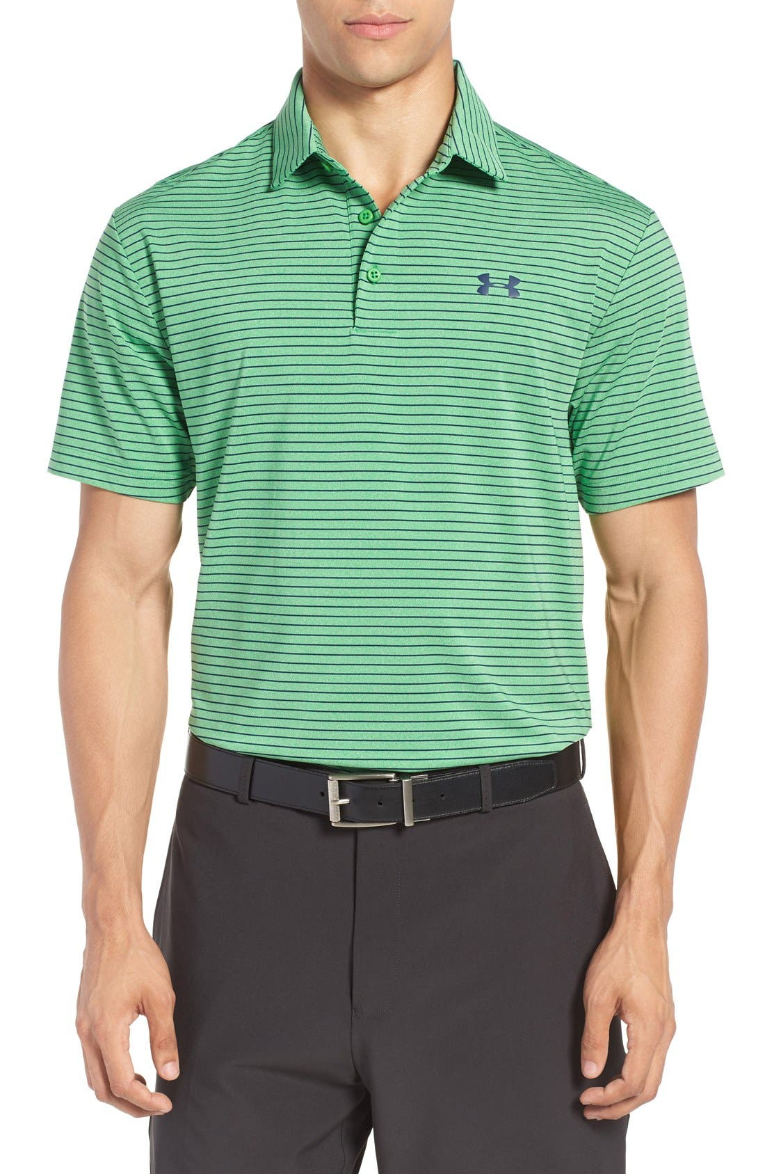 ,                             'Playoff' Loose Fit Short Sleeve Polo,                             Main thumbnail 382, color,                             754
