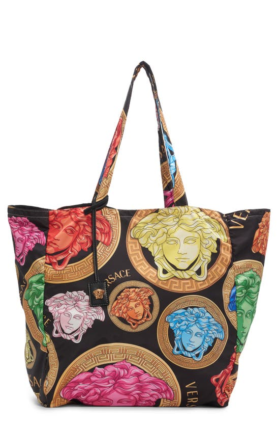 Versace Totes MEDUSA AMPLIFIED PRINT TOTE