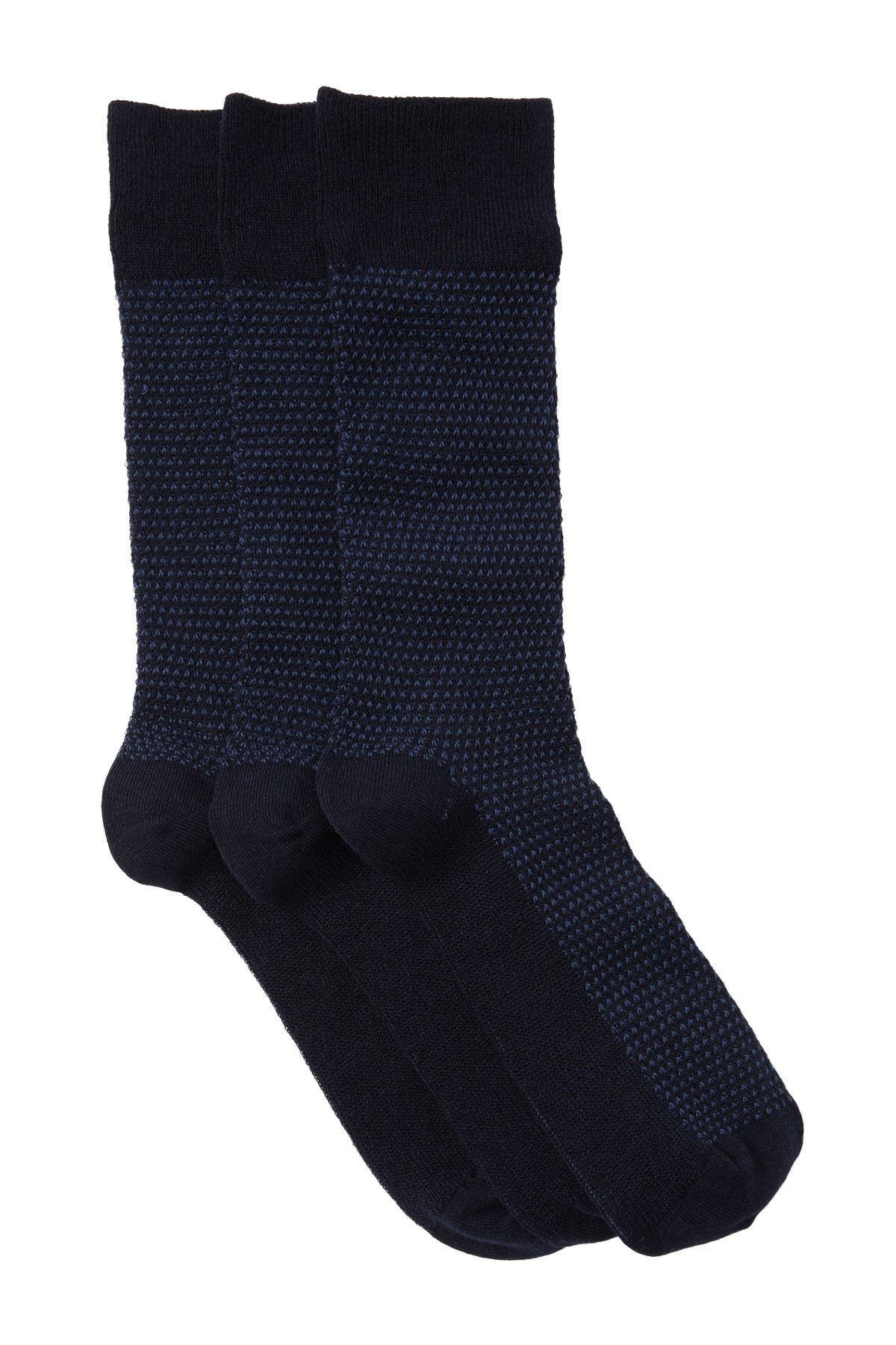 Image of Nordstrom Rack Knit Crew Socks - Pack of 3
