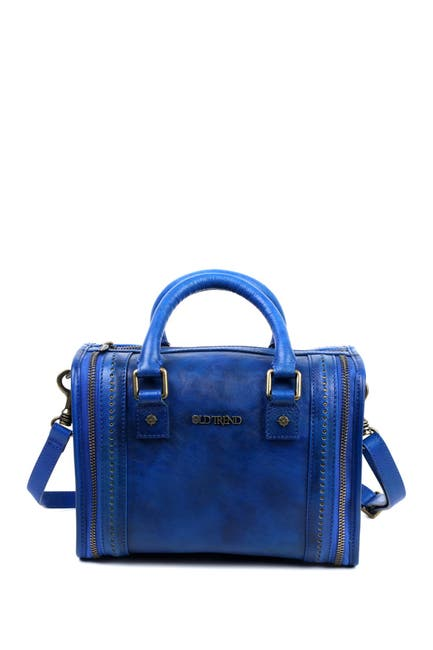Image of Old Trend Mini Trunk Leather Crossbody Bag