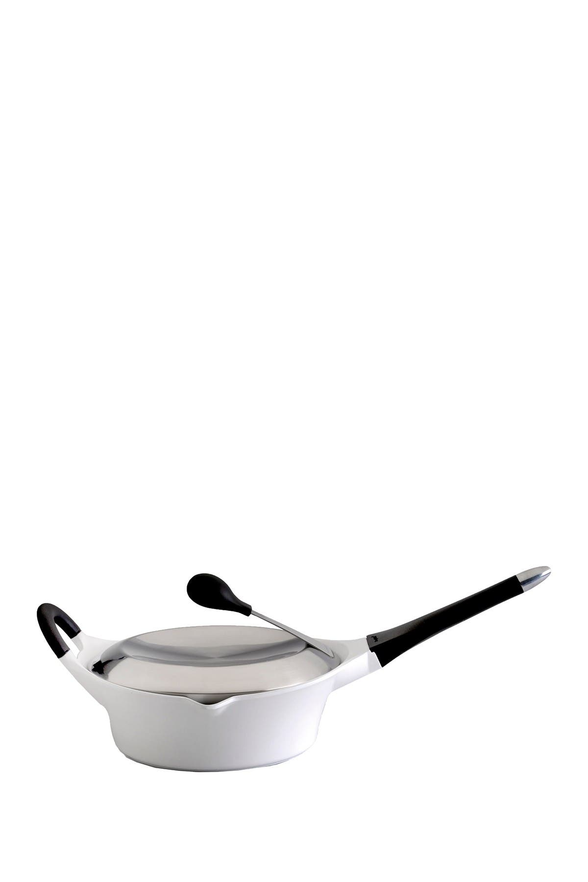 Image of BergHOFF 3.2qt. White Covered Deep Skillet