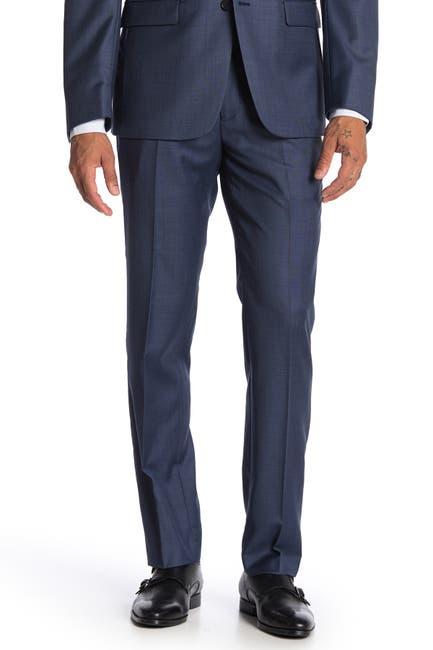 Image of Calvin Klein Blue Slim Fit Suit Separate Pants