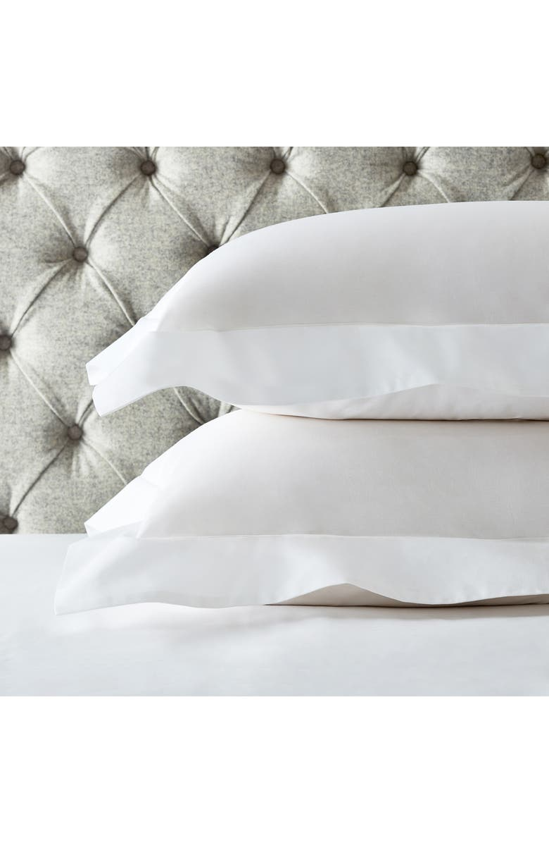 The White Company 200 Thread Count Egyptian Cotton Oxford Set Of 2 Shams