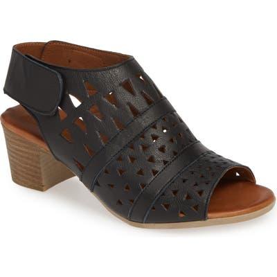 Sheridan Mia Tamsie1 Perforated Sandal - Black