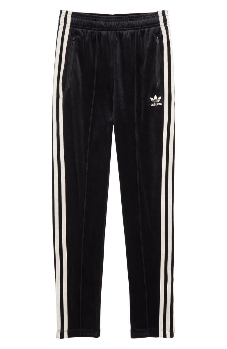 Zebra Velour Track Pants