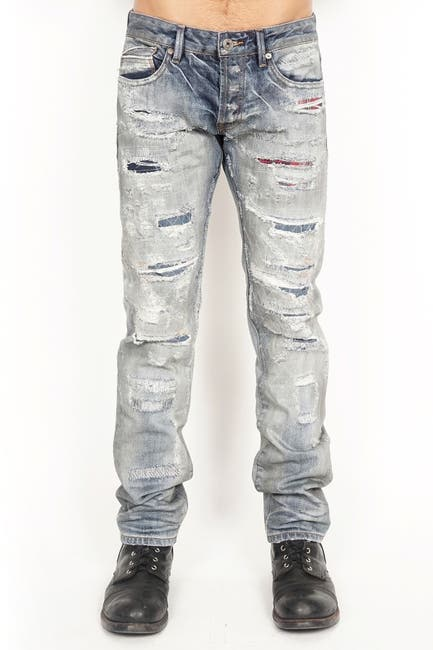 Image of Cult Of Individuality Greaser Slim Straight Jeans