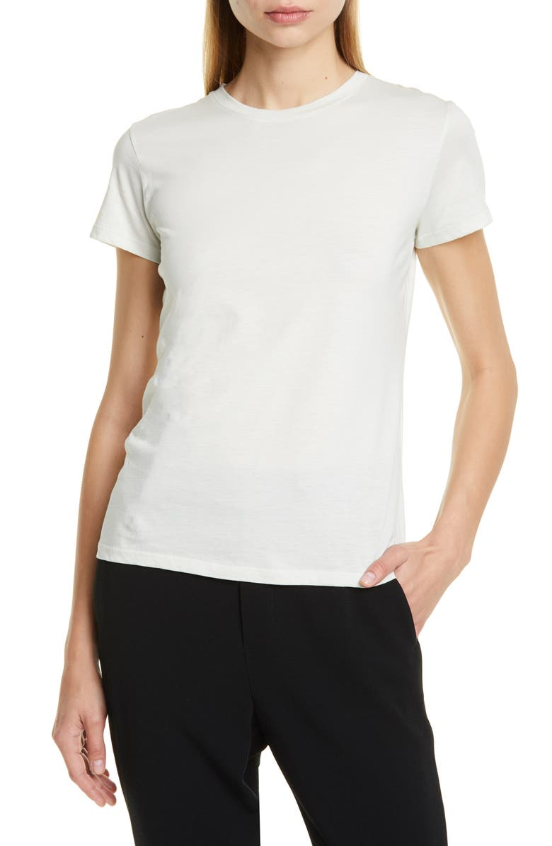 VINCE Essential Crew Tee, Main, color, ALOE