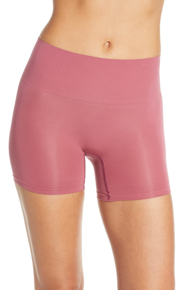 YUMMIE Ultralight Seamless Shaping Shorts, Main, color, HAWTHORNE ROSE