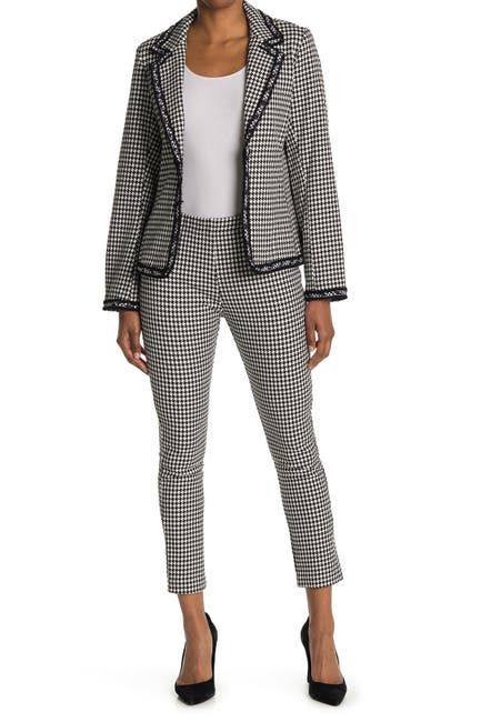 Image of Karen Kane Houndstooth Piper Pants