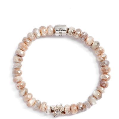 Anzie Boheme Star Moonstone Bead Bracelet