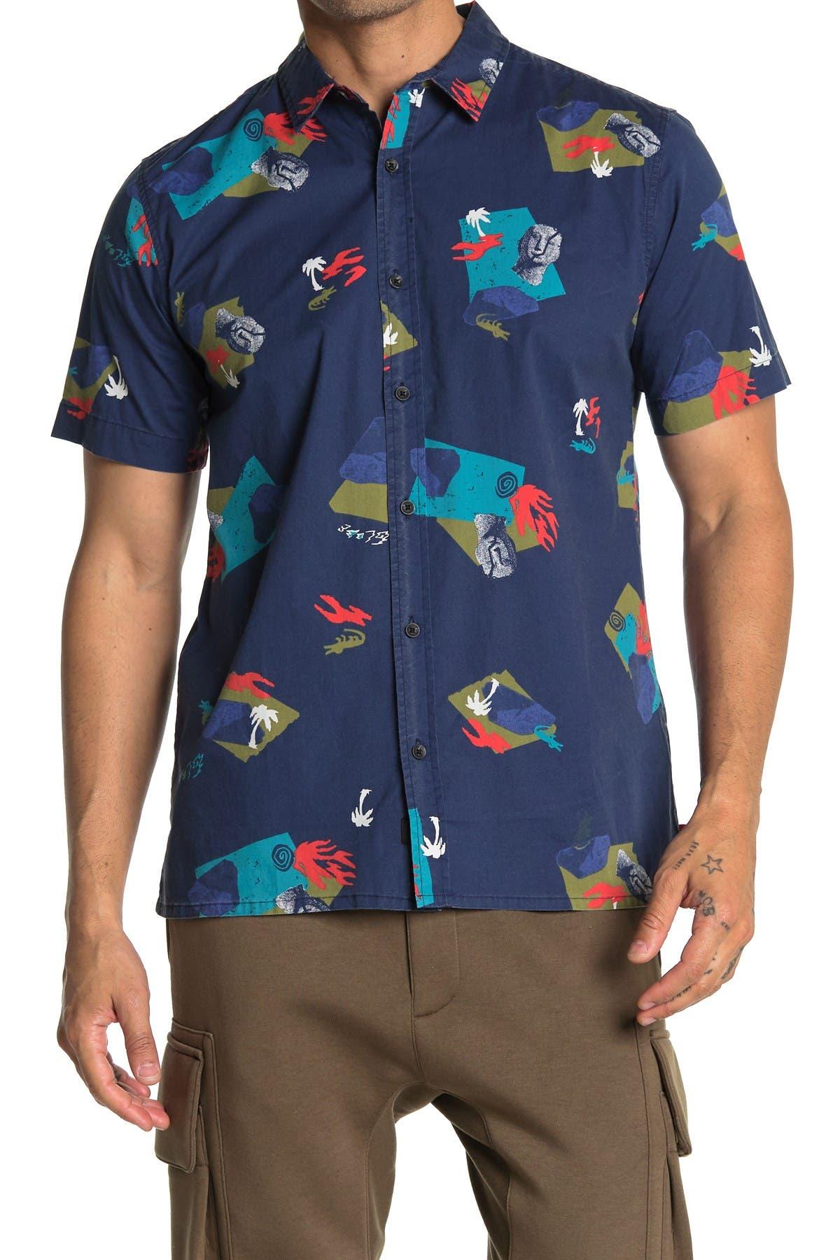 Image of GLOBE Blind Mind Short Sleeve Shirt