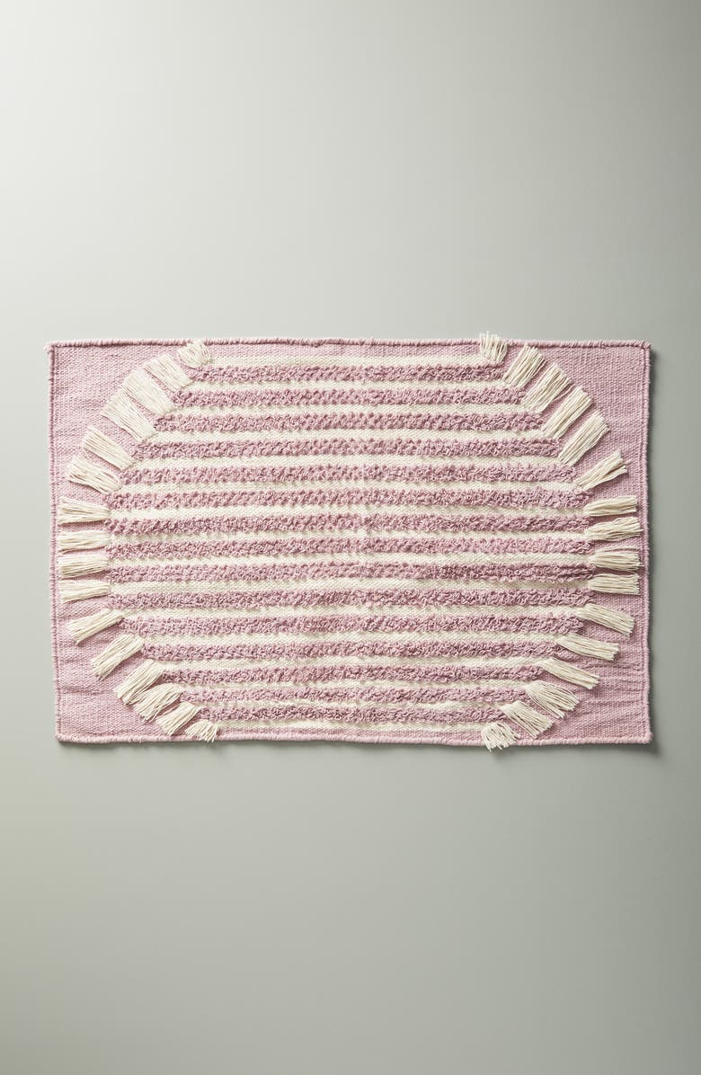 ANTHROPOLOGIE Brooklyn Bath Rug, Main, color, LILAC