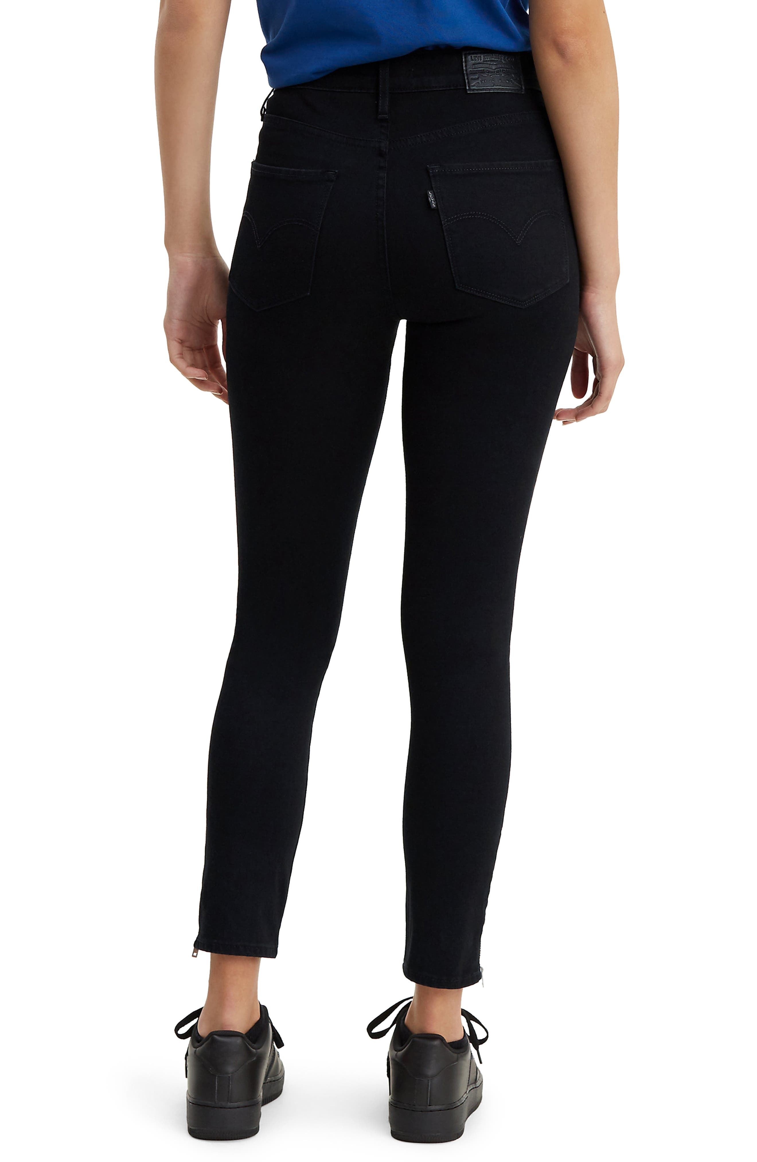 ,                             721<sup>™</sup> Altered High Waist Ankle Skinny Jeans,                             Alternate thumbnail 2, color,                             LONG SHOT