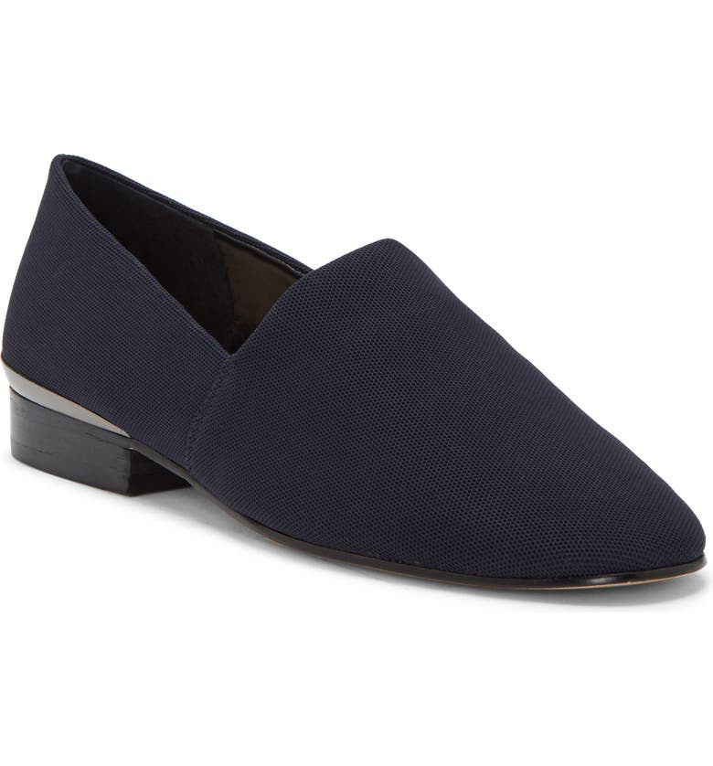 ENZO ANGIOLINI Tagwen Loafer, Main, color, DARK NAVY FABRIC