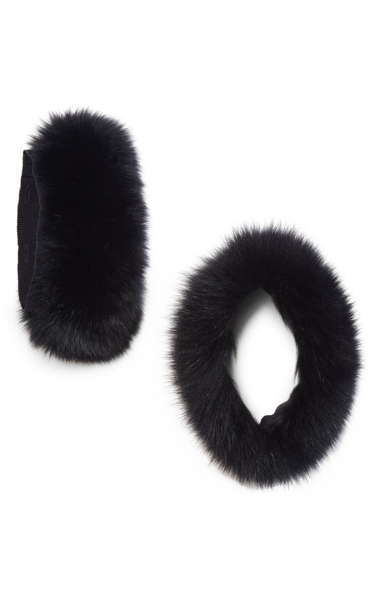 MAX MARA Susanna Genuine Fox Fur Stole, Main, color, 400