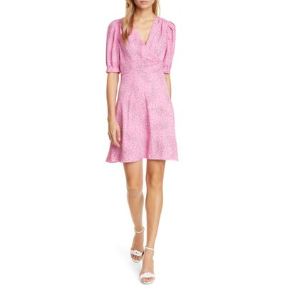Kate Spade New York Meadow Wrap Dress, Pink