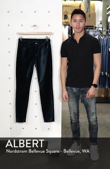 Velvet Ankle Skinny Jeans, sales video thumbnail