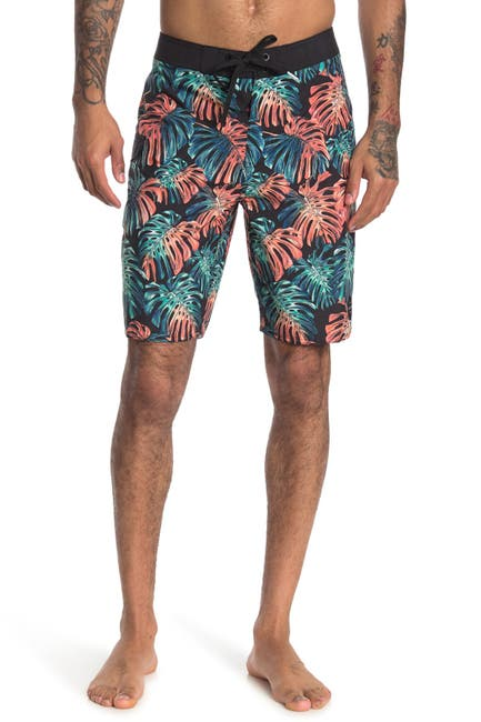 Image of Rip Curl Hollies Palm Print Boardshorts