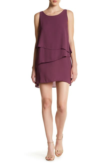 Image of Chelsea28 Sleeveless Layered Dress
