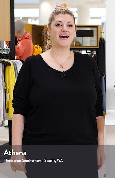Drawcord Hem Capri Jeans, sales video thumbnail