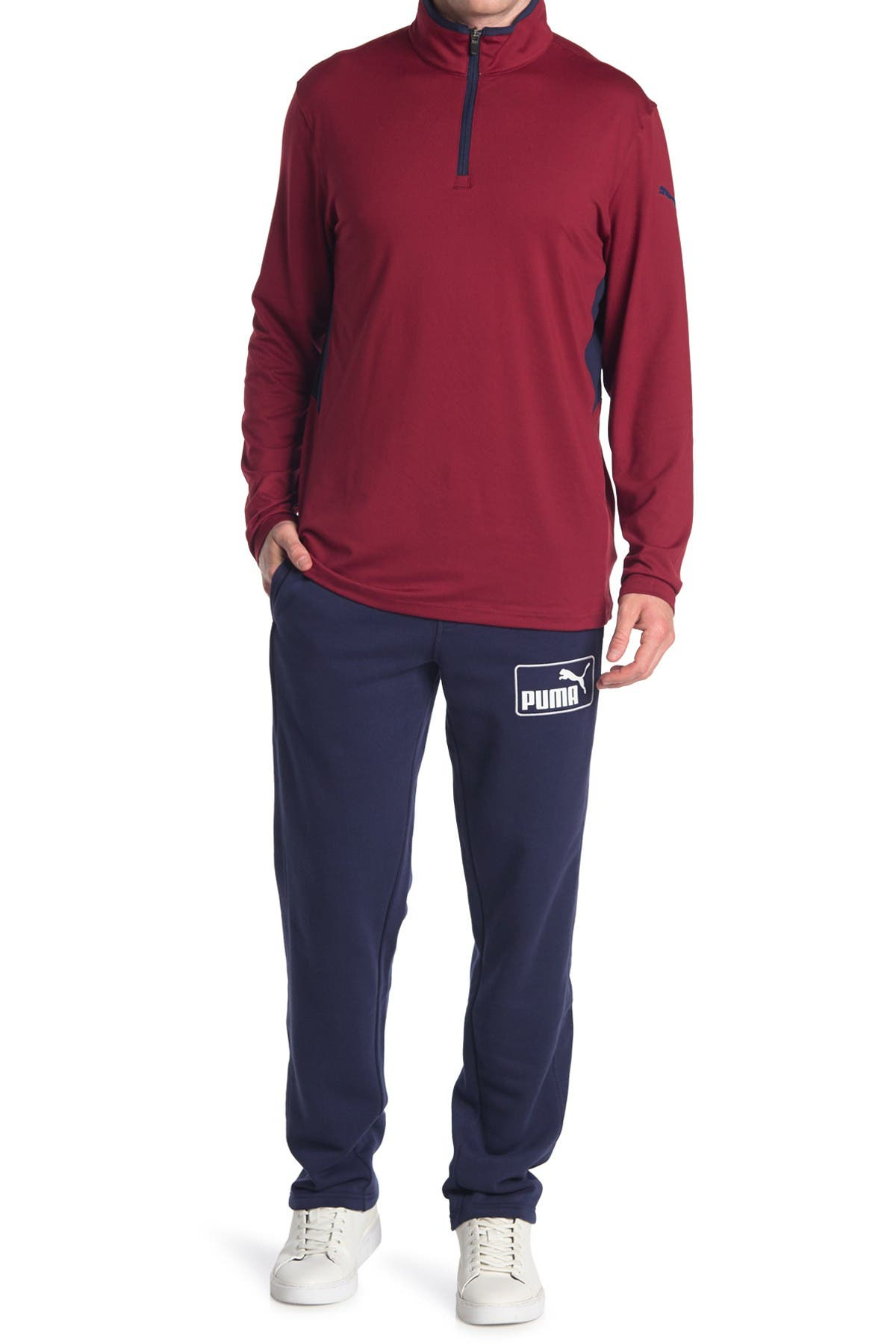 Image of PUMA Logo Track Golf Pants