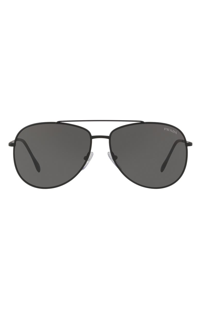 0bce2a1f5d1f Linea Rossa 57mm Aviator Sunglasses, Main, color, 002