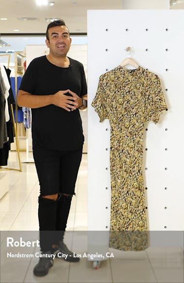Rhode Meadow Silk Midi Dress, sales video thumbnail