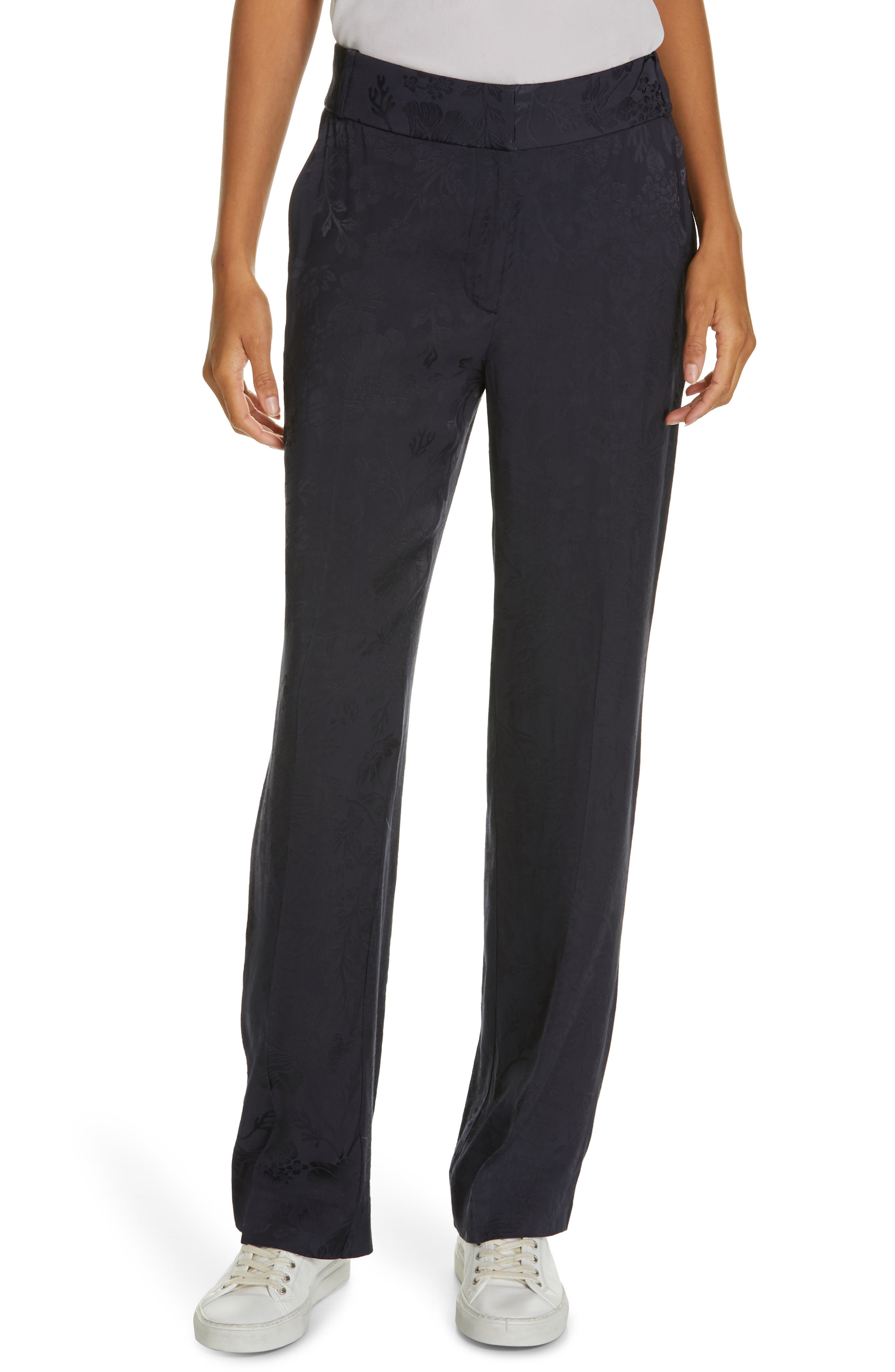 Lita Jacquard Trousers, Main, color, 400