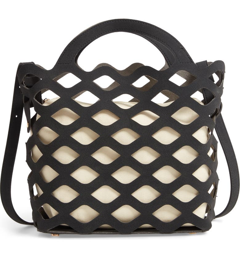 MALI + LILI Chelsea Cutout Tote, Main, color, 001